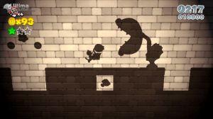 Super Mario: Juego de Sombras